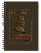 Lincoln Gettysburg Address Quote Spiral Notebook