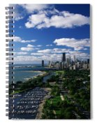 Lincoln Park And Diversey Harbor Spiral Notebook