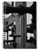 Lincoln Park Conservatory Water Works Spiral Notebook