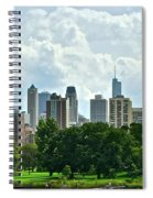 Lincoln Park Pano  Spiral Notebook