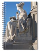 lincoln statue Gettysburg PA Spiral Notebook