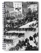 Lincolns Funeral Procession, 1865 Spiral Notebook