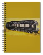 Lincons Funeral Car Spiral Notebook