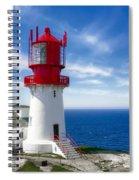 Lindesnes Lighthouse - Norway's Oldest Spiral Notebook