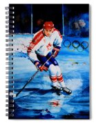 Lindros Spiral Notebook