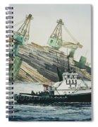 Lindsey Foss Barge Assist Spiral Notebook