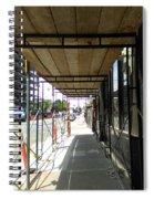 Line Spiral Notebook