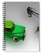 Line Truckin Spiral Notebook