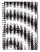 Linear Spiral Spiral Notebook