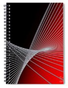 Lines -1- Spiral Notebook