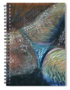 Lines And Curves Vi Spiral Notebook