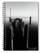 Lines And Shadows Spiral Notebook