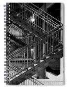 Lines Spiral Notebook
