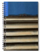 Lines Of A Train Car Spiral Notebook