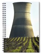 Lines To Power Tower Spiral Notebook