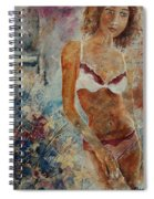 Lingerie 57 Spiral Notebook