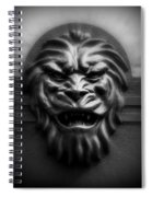 Lion Face Spiral Notebook