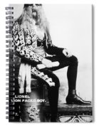 Lion-faced Man, 1907 Spiral Notebook