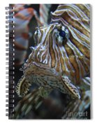 Lion Fish Profile Spiral Notebook