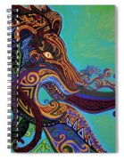 Lion Gargoyle Spiral Notebook