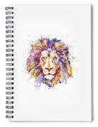 Lion Head Spiral Notebook