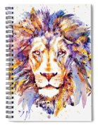 Lion Head Spiral Notebook