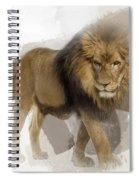 Lion Lion Lion Spiral Notebook
