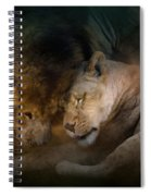 Lion Love Spiral Notebook