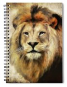 Lion Majesty Spiral Notebook