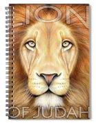 Lion Of Judah Spiral Notebook