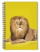 Lion Painting Spiral Notebook