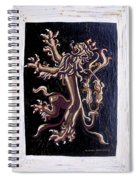 Lion Rampant Spiral Notebook