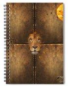 Lion Sun Spiral Notebook