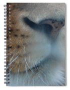 Lion's Breath Spiral Notebook