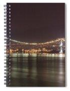 Lions Gate Bridge 2 Spiral Notebook