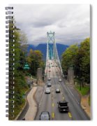 Lion's Gate Bridge Spiral Notebook