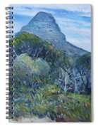 Lions Head Cape Town South Africa 2016 Spiral Notebook