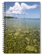 Lion's Head - Summer Afternoon On The Dock Spiral Notebook