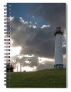 Lion's Lighthouse For Sight - 2 Spiral Notebook