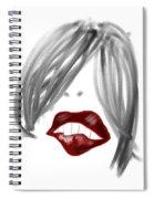 Lips Too Spiral Notebook
