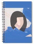 Lipstick Spiral Notebook