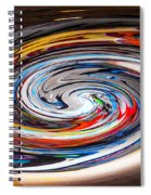 Liquefied Graffiti 4 Spiral Notebook
