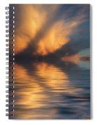 Liquid Cloud Spiral Notebook