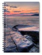 Liquid Lagoon  Spiral Notebook
