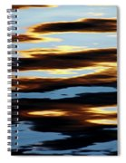 Liquid Setting Sun Spiral Notebook