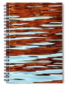 Liquid Sunset Spiral Notebook