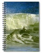 Liquid Thunder Spiral Notebook
