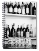 Liquor Bottles Spiral Notebook