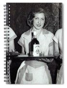 Liquor Is Served - Prohibition Ends 1933 Spiral Notebook