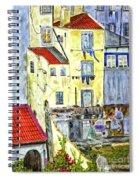 Lisbon Home Painting Spiral Notebook